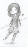 Pencil Chibi by Lazulelle