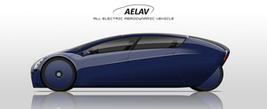 AELAV : Concept Car by StylePixelStudios
