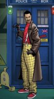Lenny Henry as the Doctor by PaulHanley