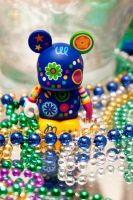 Beaded Vinylmation by LDFranklin