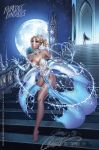 Cinderella's Enchanted Wardrobe Malfunction by J-Scott-Campbell