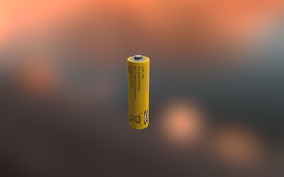 IKEA AA Battery by AlexVestin