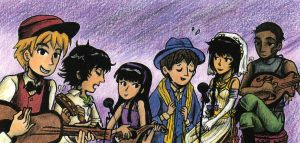 Lonely Hearts Club Band by sweet-suzume