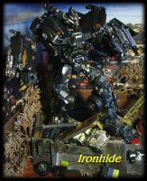 Ironhide repaint by Catskind