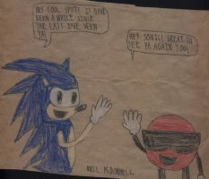 Sonic With The Cool Spot by FireshockerBill