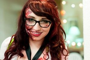 Ginger Zombie by JaniellMarie