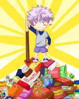 Killua Chibi by Adelaide-Chrome