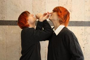 Fred Weasley - Lucca Comix 2011 by RaveMaster91