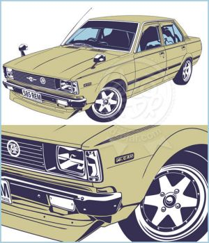Lineart Art Vector Detail by ndop