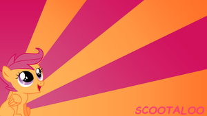 Scootaloo Wallpaper by BlueDragonHans