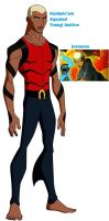 Aqualad Young Justice by nhrynchuk
