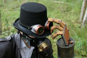 Steampunk Character: Snir 2 by Maroventolo