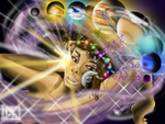 Cosmic Goddess Censored by artboy-2