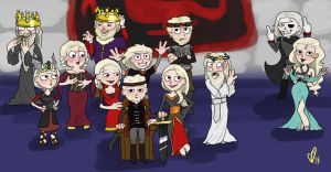 targaryen family portrait by kaleadora