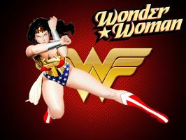 Wonder Woman wallpaper by SWFan1977
