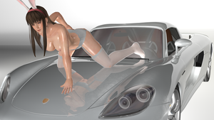 Hitomi And  Carrera Gt by r3vulimotiH