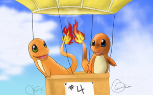 Charmander Collab by Snootle