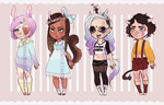 [OPEN]Adopt Set #1 by RoorenSama