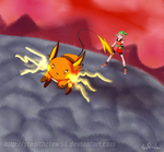 Battle On at the End of the World by stealthclaw96
