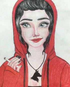 Little Red Riding Hood(After falling for the wolf) by AreenaDler