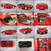 Lamborghini Countach 1:18 Model Photo Compilation by AWorger