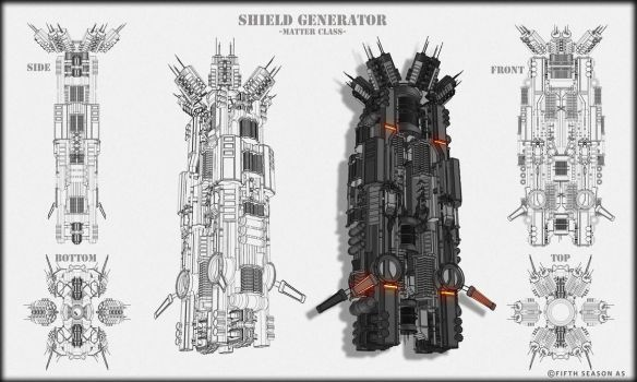 Matter Class shield Generator Concept by Nym182