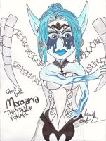 (Ghost Bride) Morgana: The Fallen Angel [scanned] by BrunettePanda