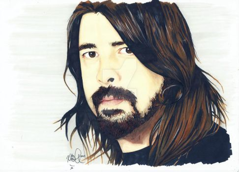 Dave Grohl 1 by Kellalizard