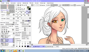 .:: Wip ::. Lysandre by Seigana
