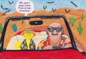 Banananadilewski Fear and Loathing In Las Vegas by Fisherella
