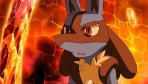 Lucario dismissing you. Animation by Lucario-Furry