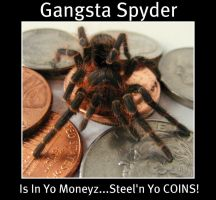Gangsta Spyder by PaganFireSnake