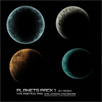Planets pack1 by deibiz