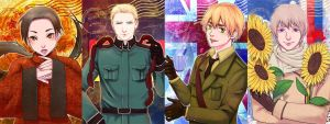 Hetalia prints by superspacemonkey