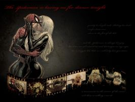 Spiderman and The Black Cat by DarkJade21