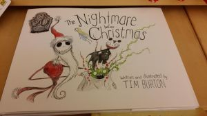 The Nightmare Before Christmas Book by L-fangirl-101