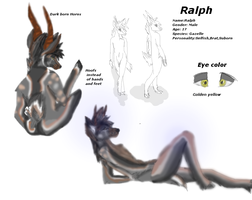 Ralph Reference sheet by Bacon-Paws