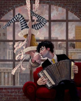 Aerial And Accordion by jasinski