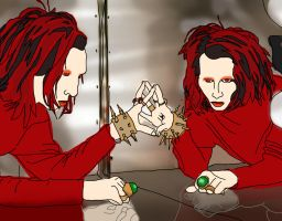 Manson's Mirror by TheArtOfPretension
