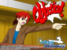 Objection of Negi by shaoron