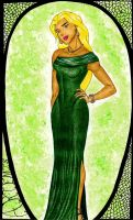 Young Justice Evening Gowns: Artemis by GossamerWing