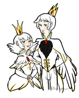 King and Queen of the Swan Kingdom by Asktheswanprincess