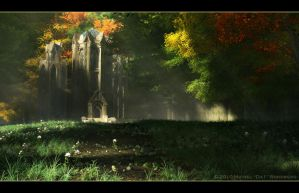 Sacred Elven Temple by KnowYouAre