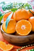 Tangerines in bowl by BeKaphoto