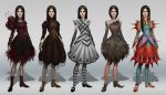 Mad Alice designs by MarkoTheSketchGuy