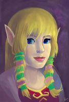 Zelda Portrait by AlineMendes