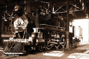 Steam Locomotive No. 40 by Scooby777
