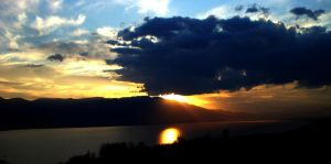 Sunset from Sakarya by VHTTML
