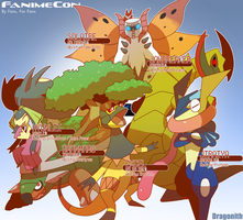 Fanime Cup - Singles Team by Dragonith