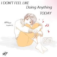 APH--JAPAN---i'm Lazy--- by aphin123